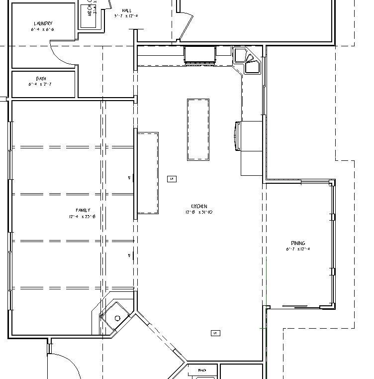 Before Floor Plan