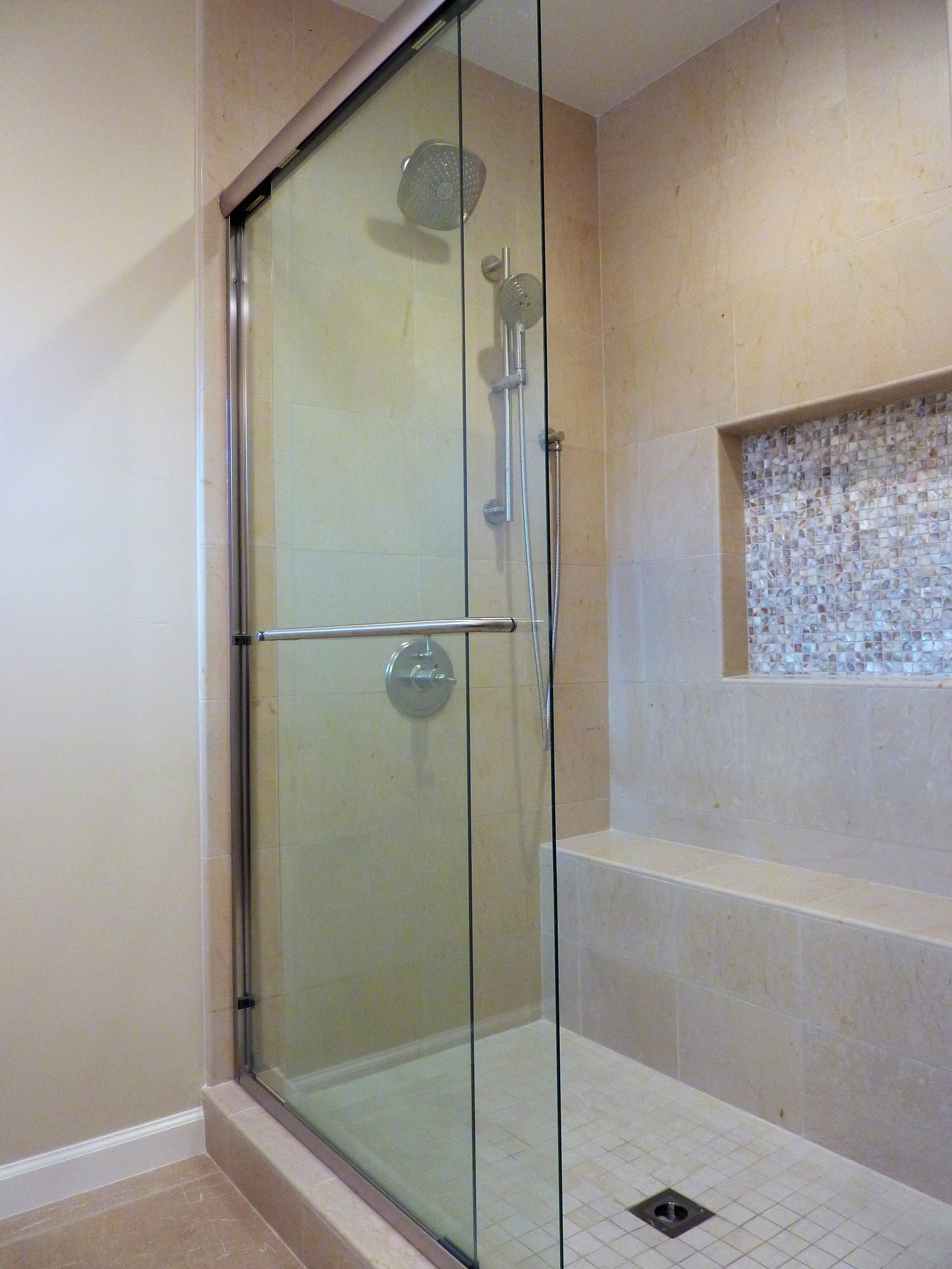 Framed Sliding Shower Door