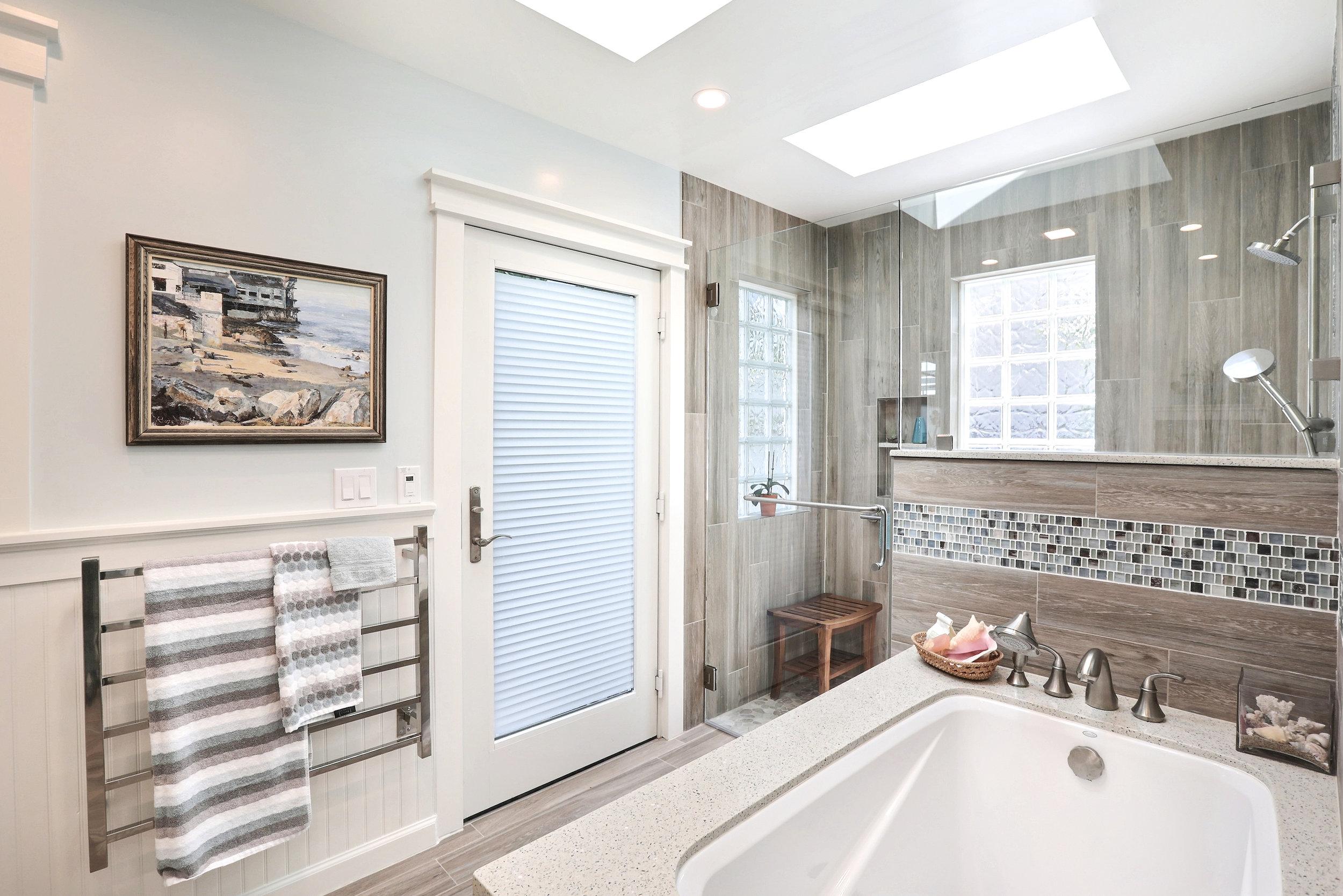 Tub/Shower Area After