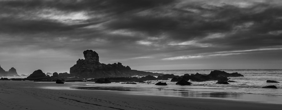Algarve coastal seacliff