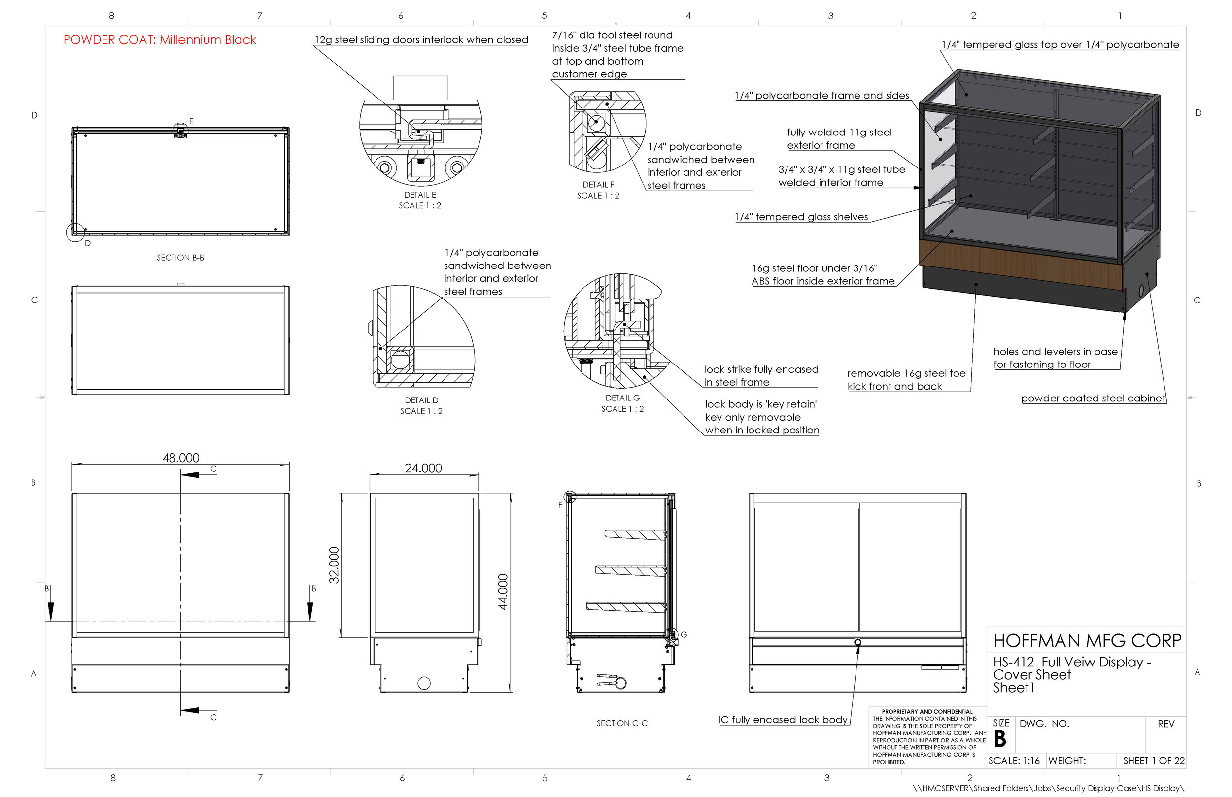 HS-412  Full Veiw Display - Cover Sheet.JPG
