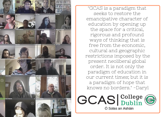 _GCAS is a paradigm that seeks to restore the emancipative character of education by opening up the space for a critical, rigorous and profound ways of thinking that is free from the economic, cultural and geographic.png