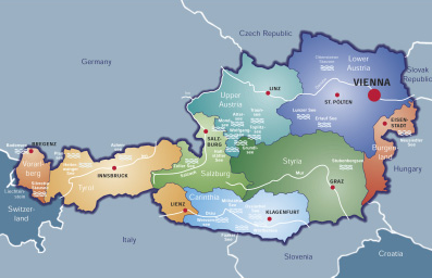 Vienna Map