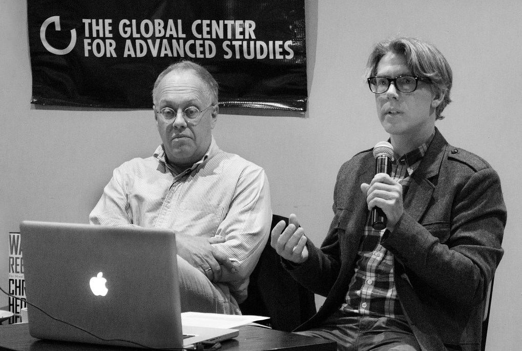 Creston Davis—the Founder of GCAS in Brooklyn with Chris Hedges