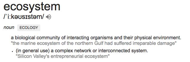 ecosystem def.