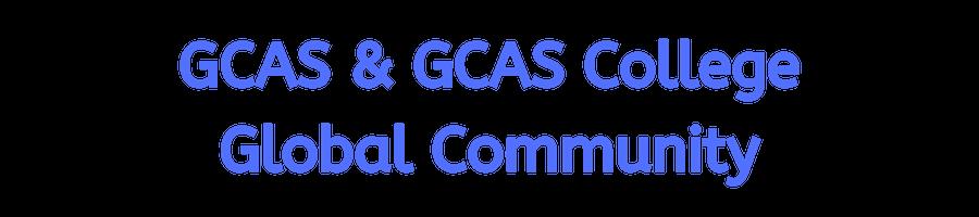 GCAS & GCAS College Global Community.png