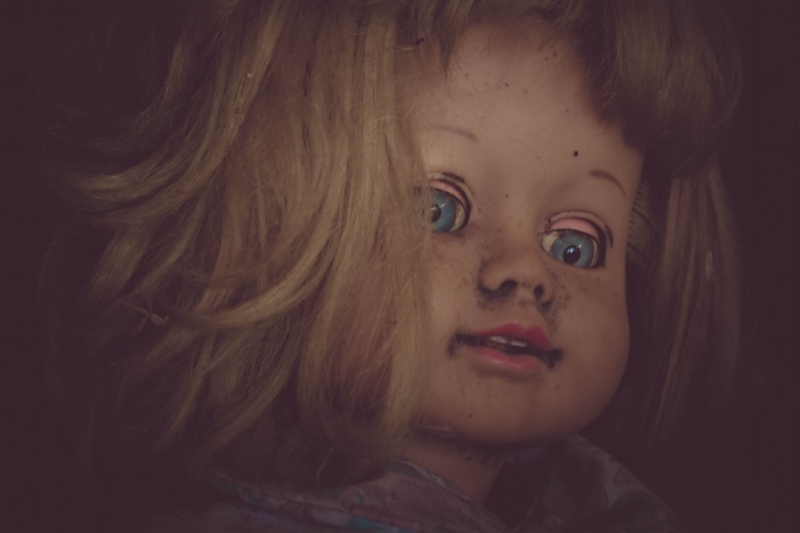 There are a number of creepy dolls sold online that would make for perfect Halloween props. (Photo by  Fancycrave )