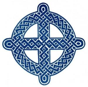 The organization's religious symbol.
