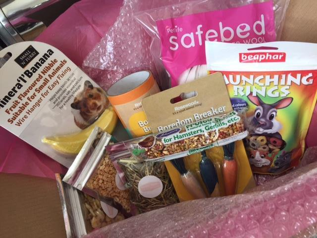 Don't just buy a subscription box for yourself. There are also quite a few geared toward pets. (Photo:  Hamster Hamper )
