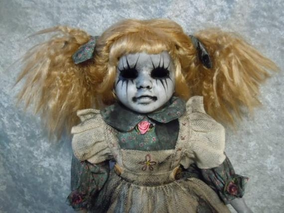 If you think Chuckie is scary, you obviously haven't seen  Day of the Dollies ' creations.