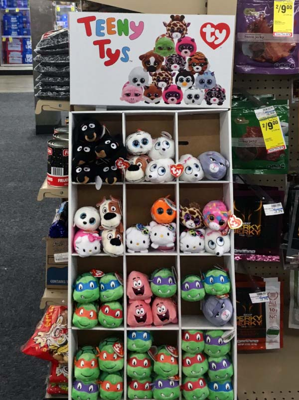Ty is now one of the most ubiquitous toy manufacturers in the U.S. You can even find them at your neighborhood CVS store. (Photo:  Jessie Schiewe )
