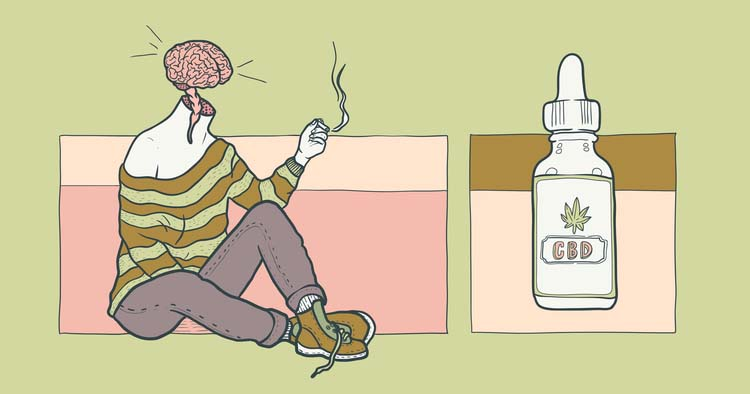 In 2017, a Harvard University study found that ingesting cannabis can make you smarter by helping you complete tasks faster and make fewer errors. (Art:  Nes Vuckovic )