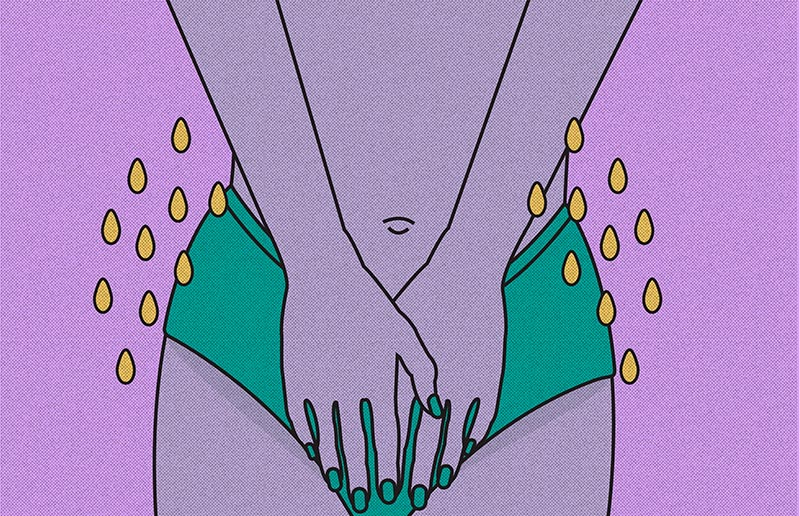 is peeing your way to bliss really possible? (Art:   Sam Graap  )