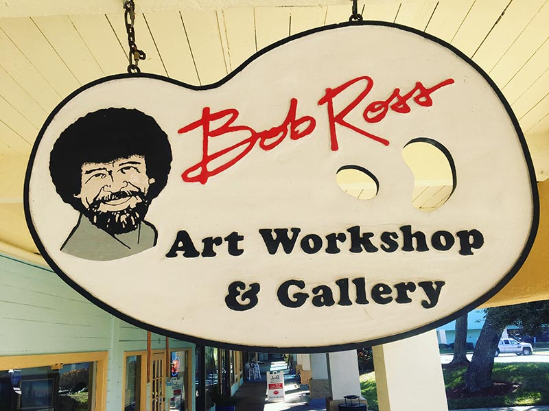 The    Bob Ross Art Workshop    in New Smyrna Beach, Florida.