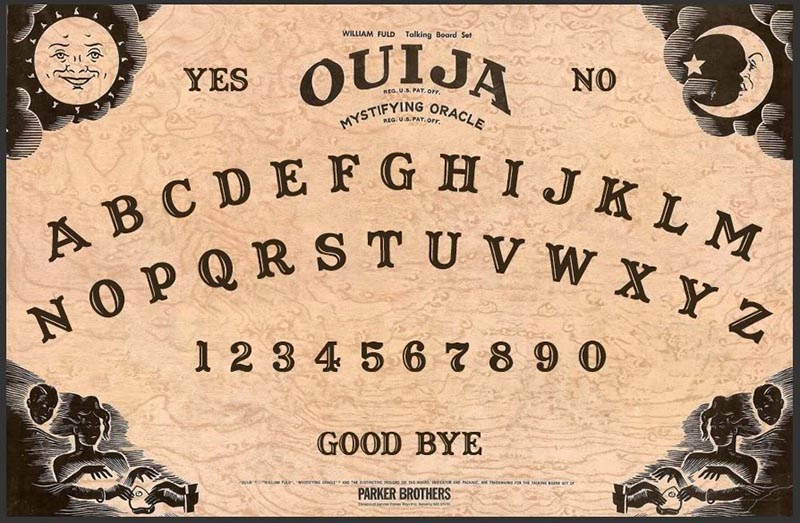 Better than a Ouija board: If you want to connect with spirits, go to a thrift store. ( JJBers )