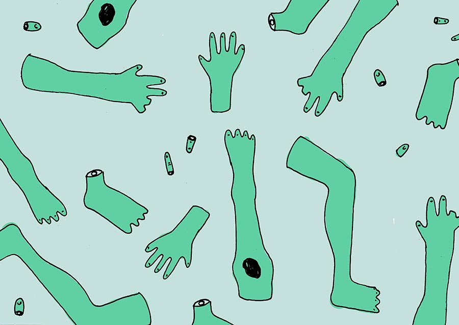 It's one thing to loathe a body part that doesn't work right or looks weird. But what if you felt that way about a limb that was perfectly normal? (Art:  Ivan Chadinski )