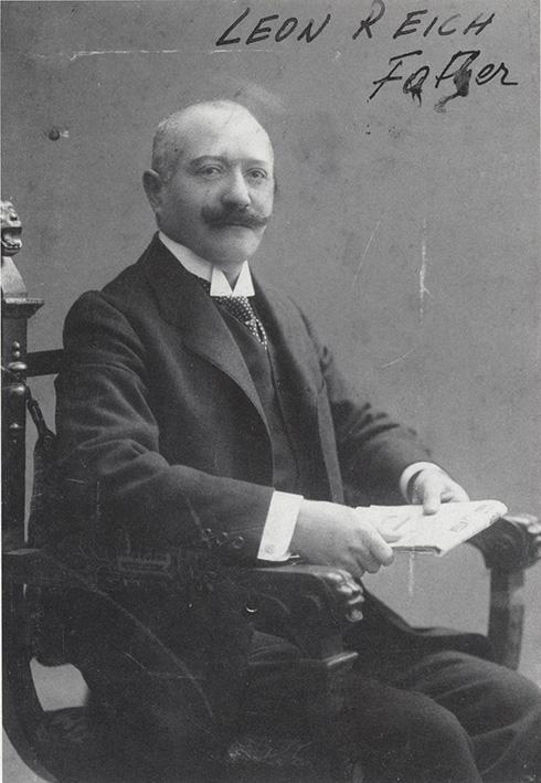 Wilhelm Reich's father Leon Reich