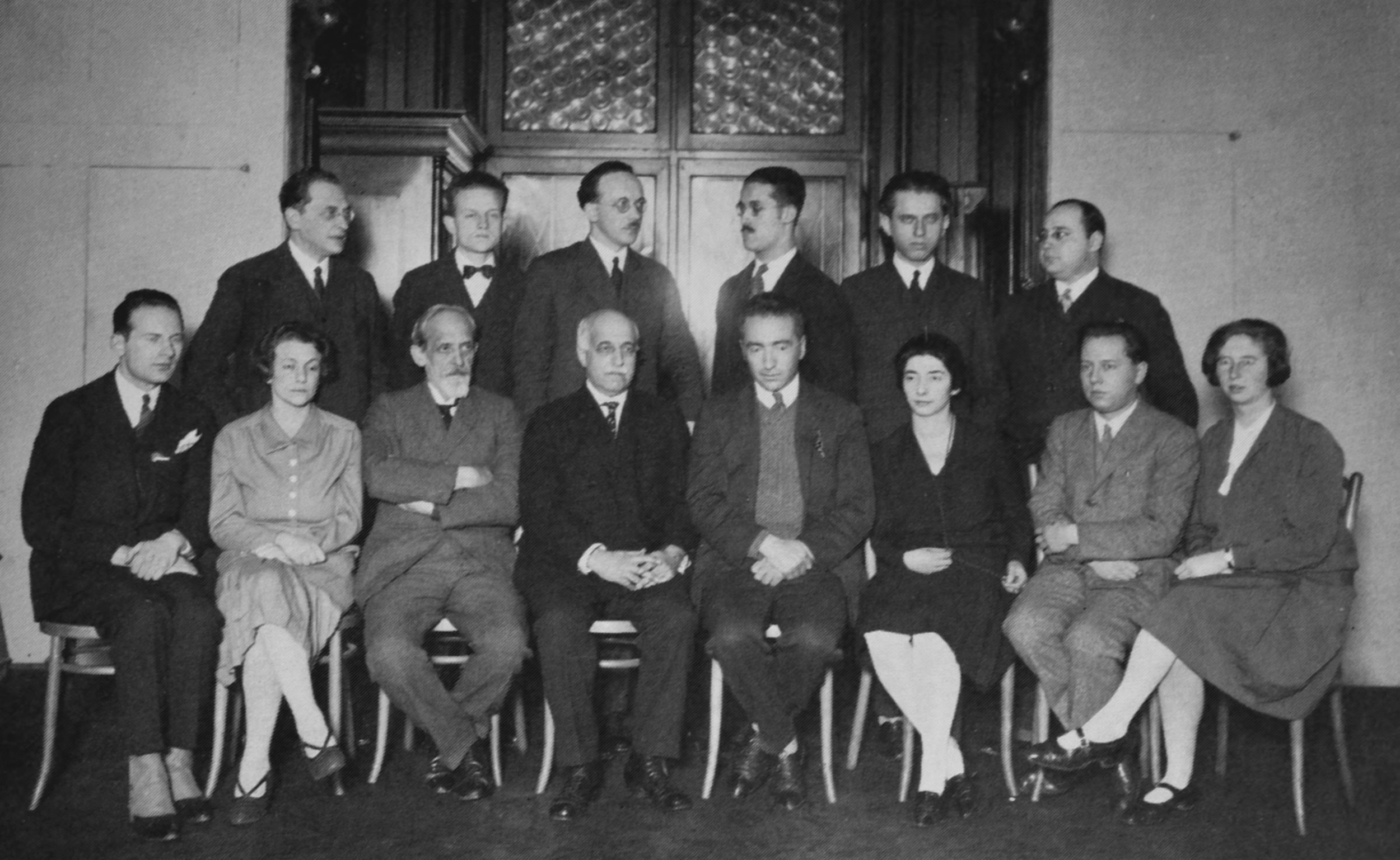 Members of the Psychoanalytic Polyclinic in Vienna (1922)