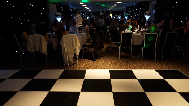 Copy of Christmas party room set dance floor