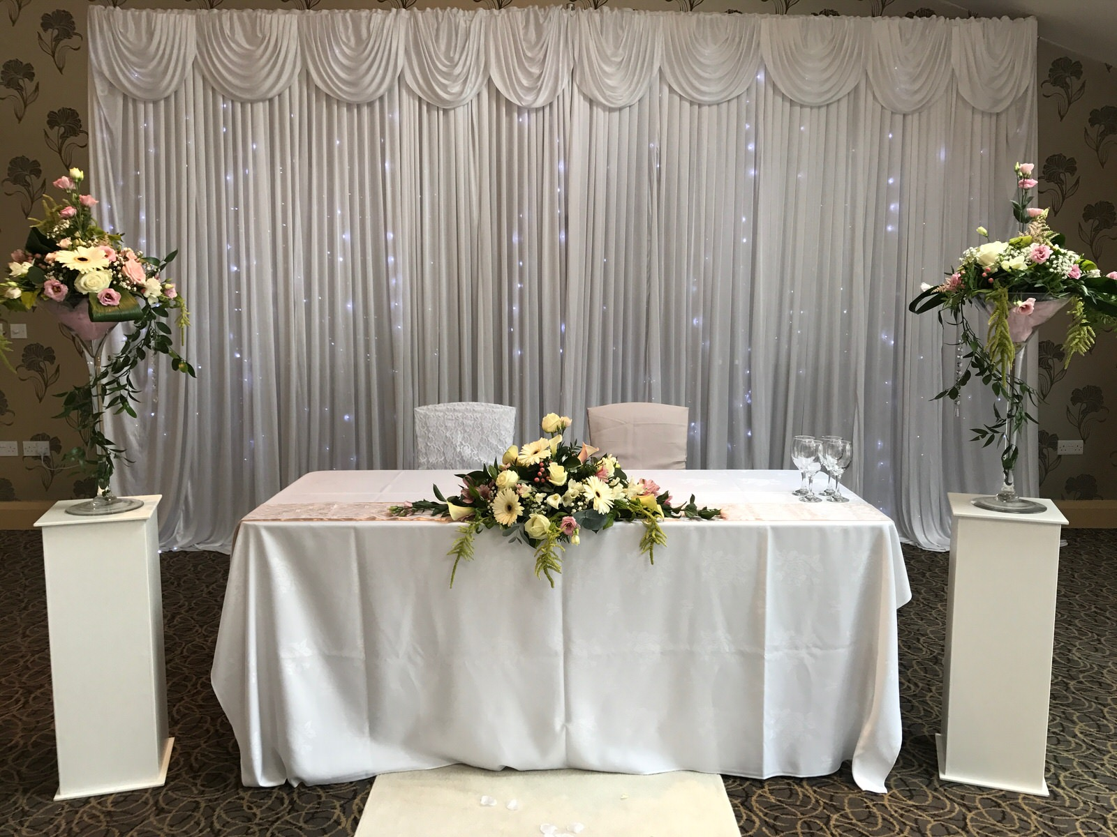 Copy of Civil ceremony table set