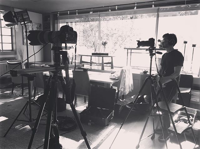 Spent the last couple days on set directing and filming a commercial.  #film #director #arri #canon #cinema