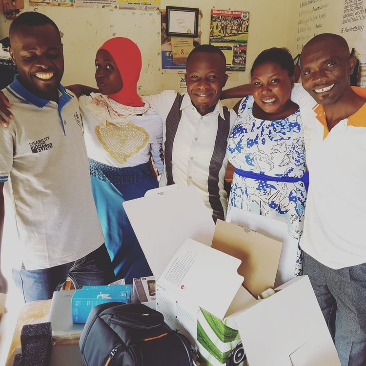 This photo was taken back in May when Nerve visited our partner organisation MADIPHA and brought along some tech goodies such as mobile phones, laptops and cameras. With all the work they do out in the field, these items really go a long way.  Thank you for your contribution!