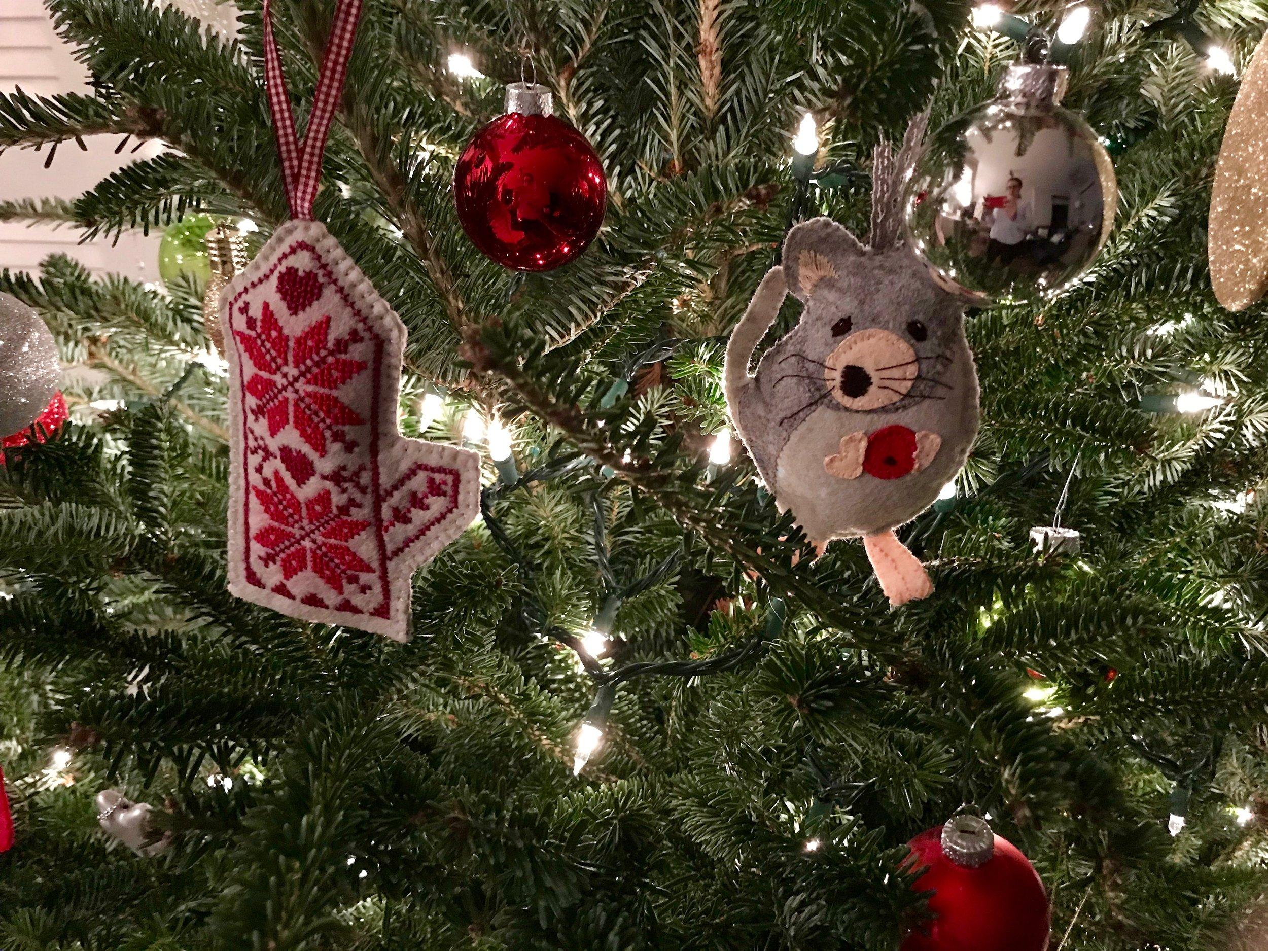 Alicia Paulson Christmas Ornaments