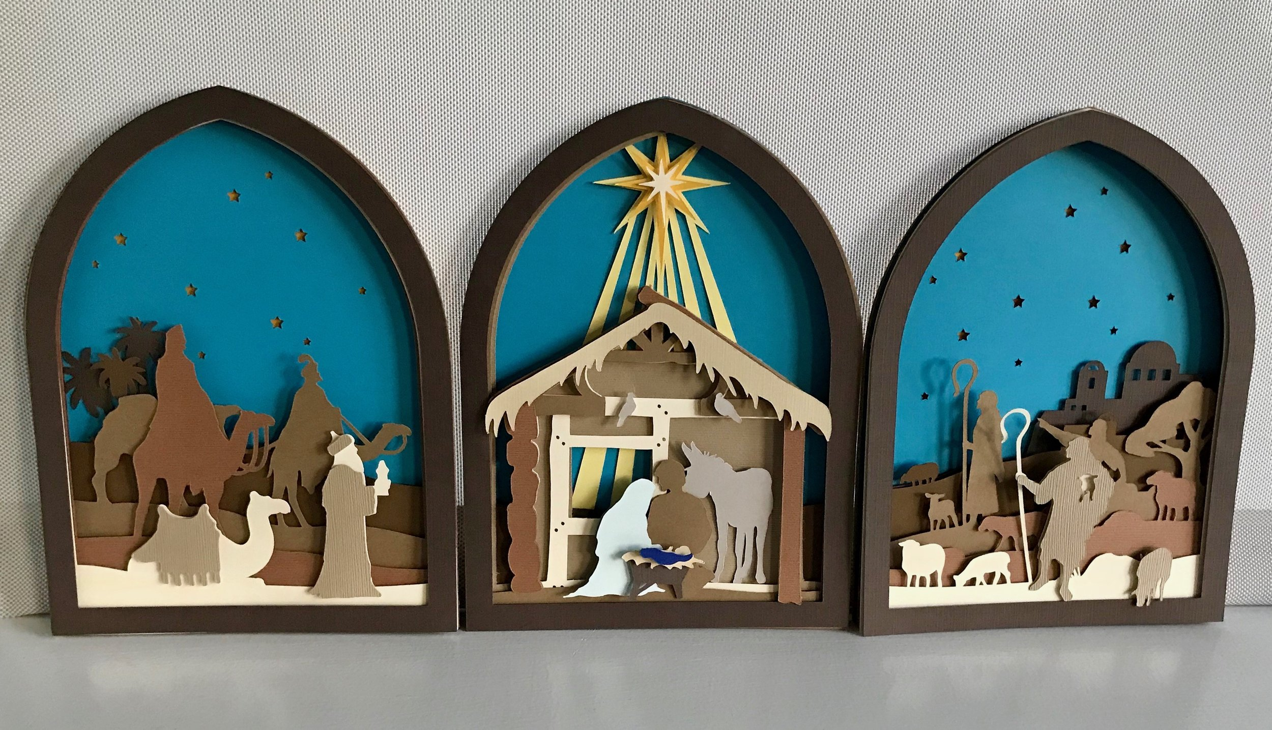Cricut Nativity