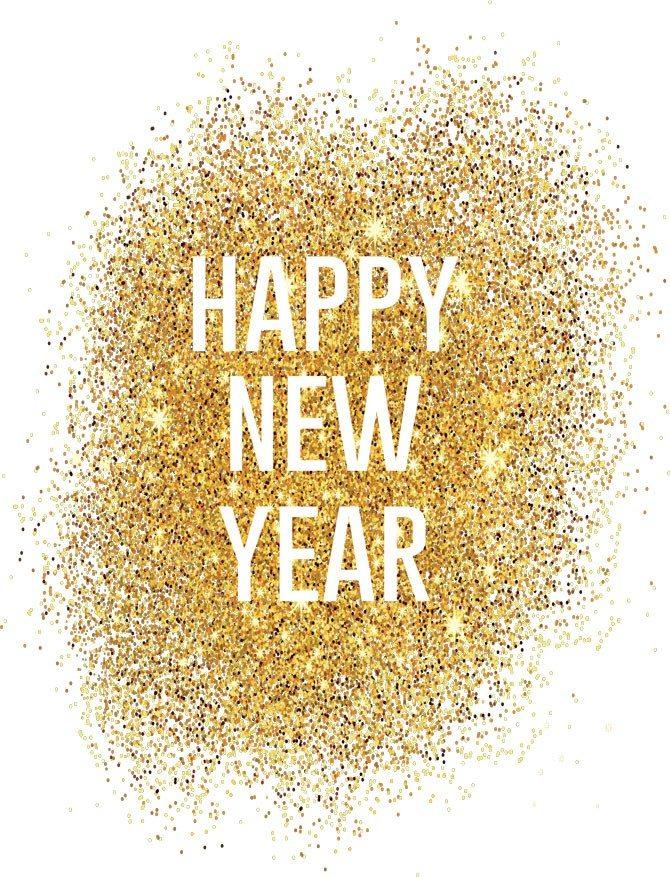 Glitter New Year