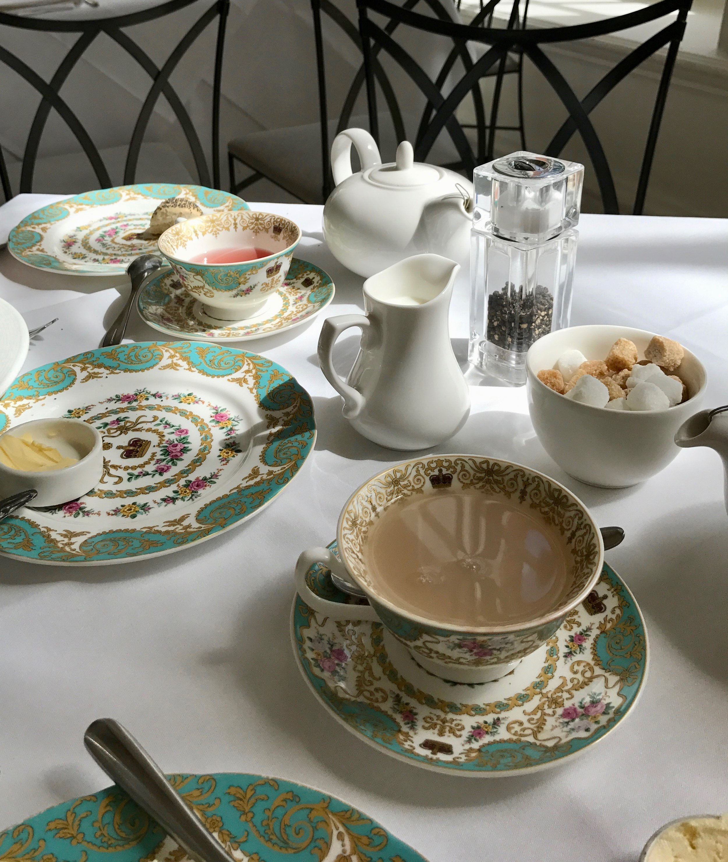 Tea at Kensington Palace