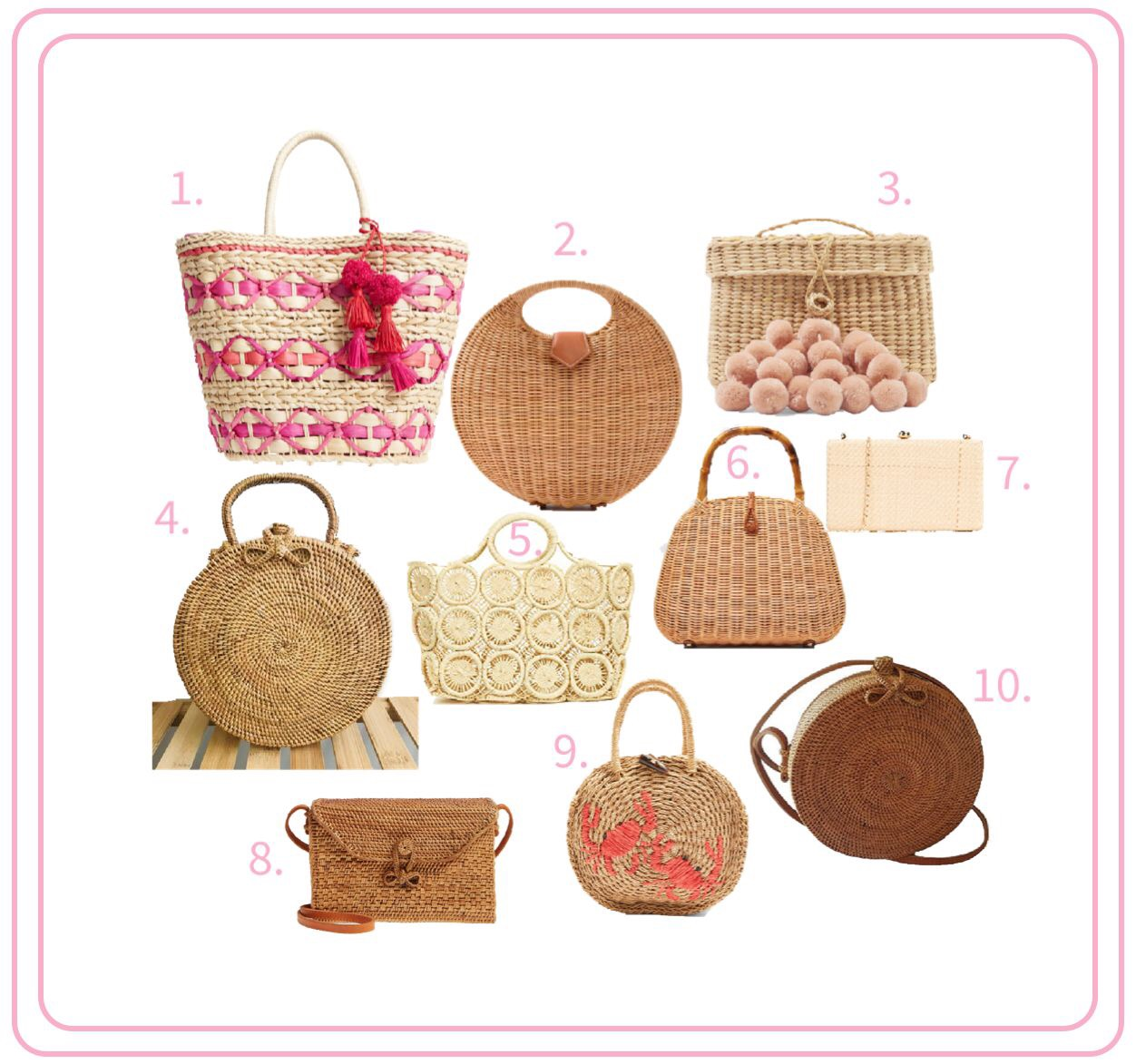 The Best Basket Bags for Spring