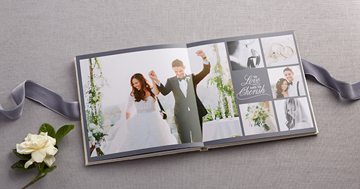 shutterfly wedding album