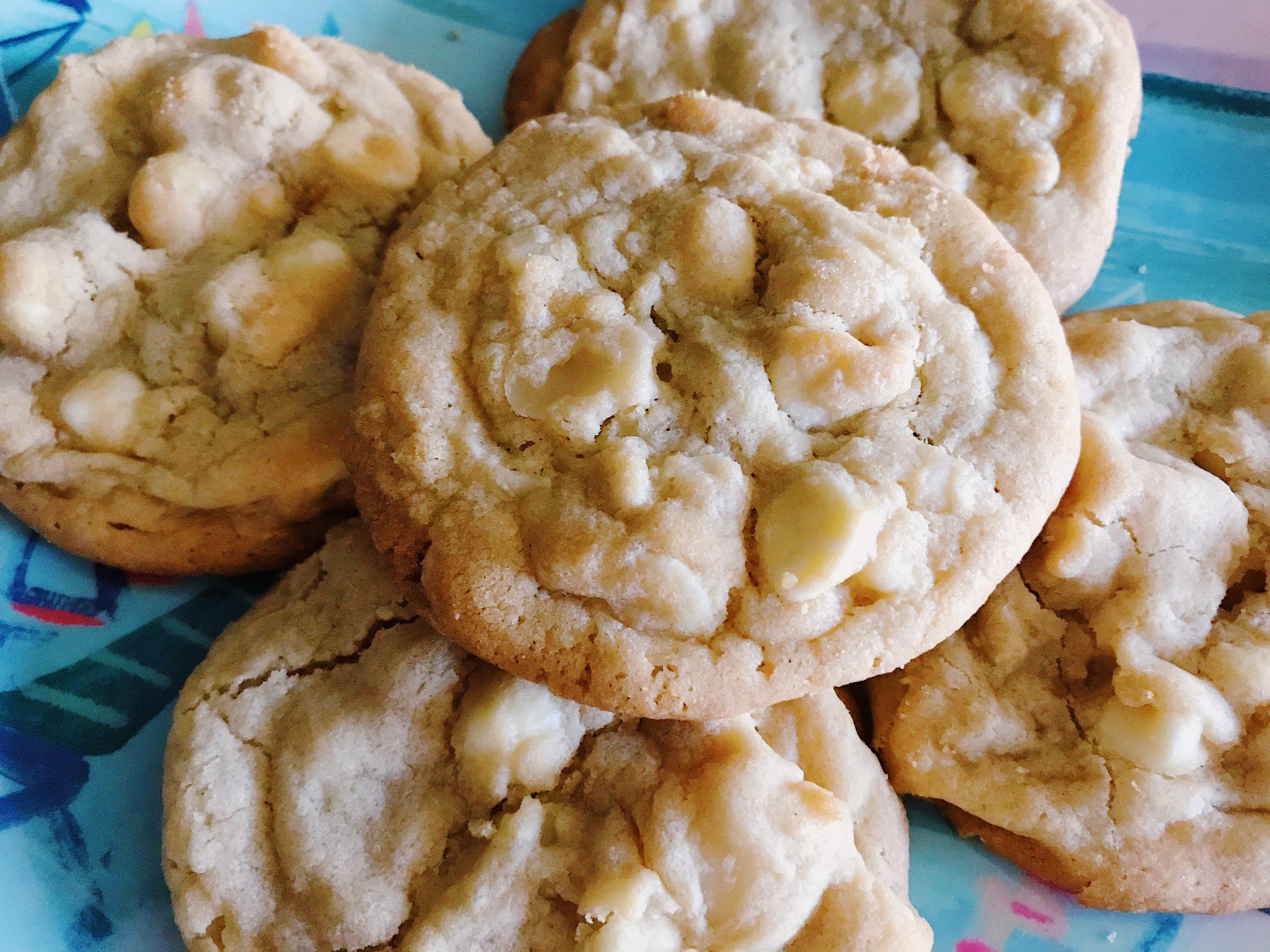White Chocolate Chip Macadamia Cookie Recipe