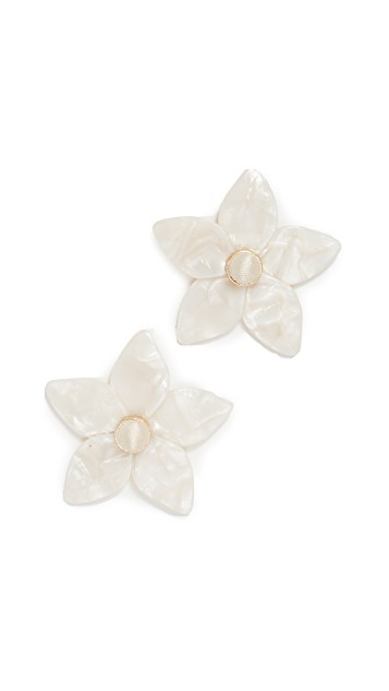 Bauble Bar Flower Earrings