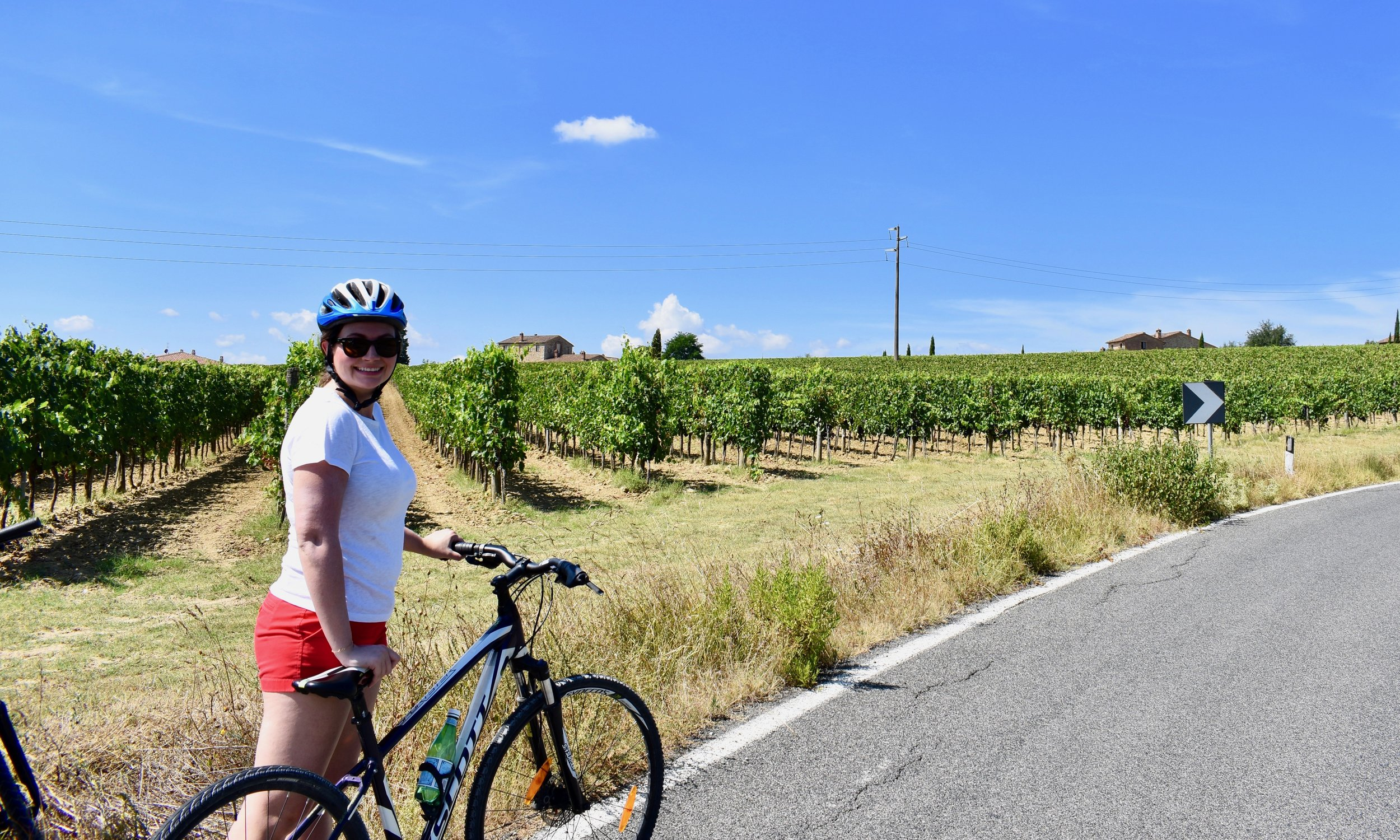 A Bike Ride In Tuscany