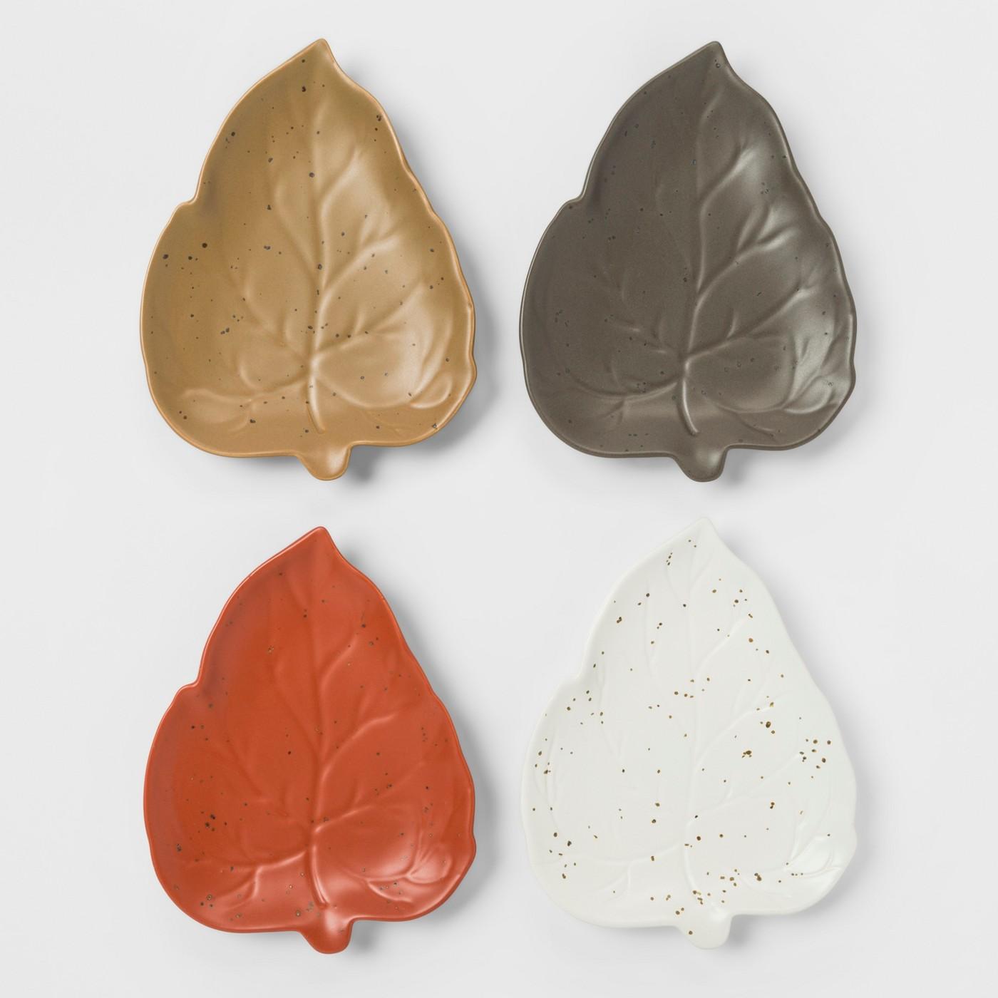 Leaf Appetizer Plates