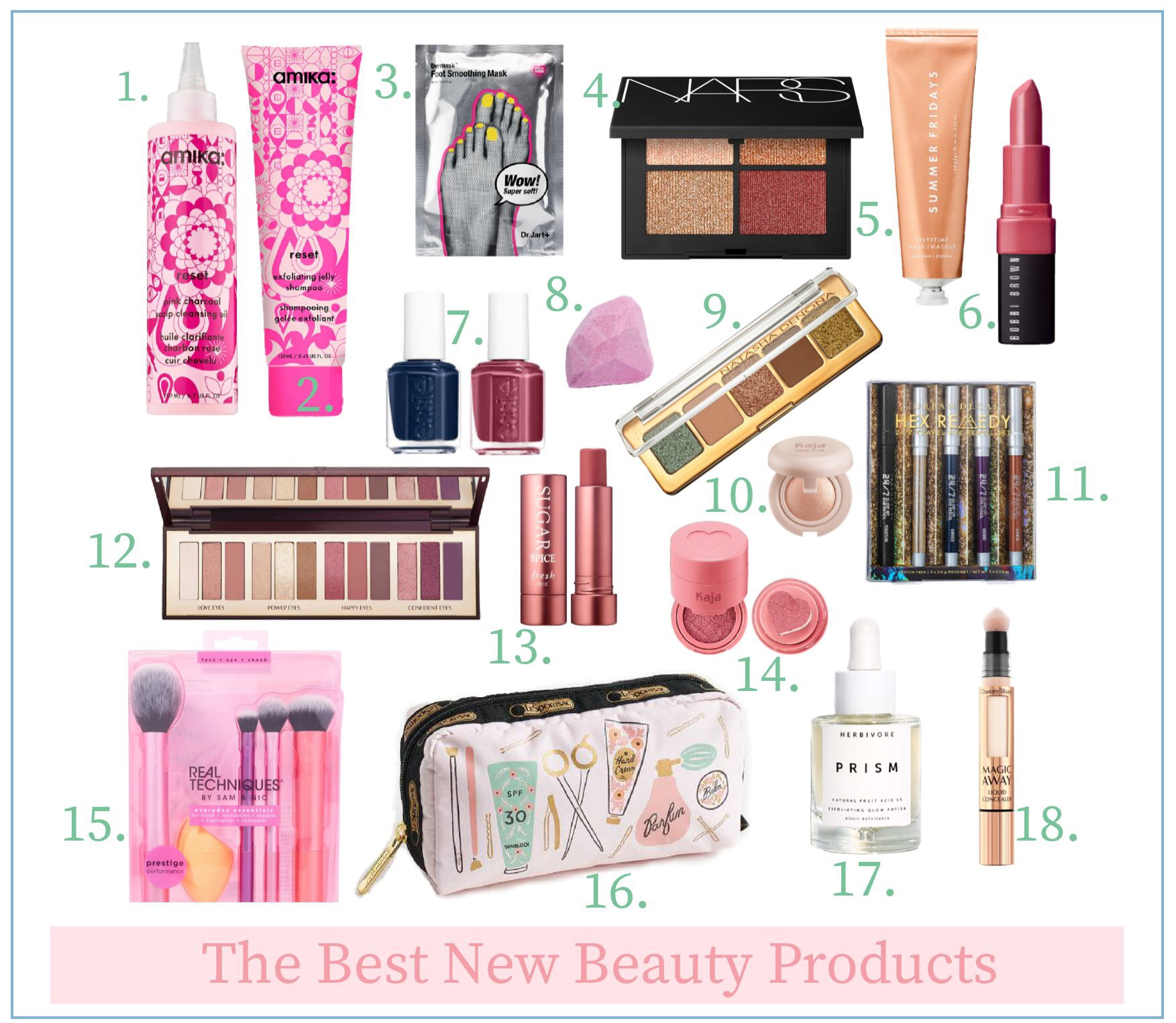 The Best New Beauty Products