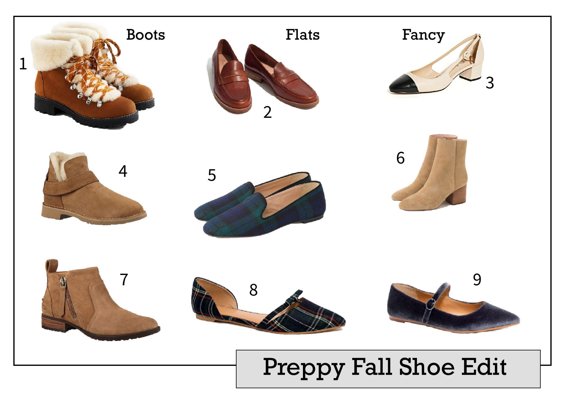The Fall Shoe Edit