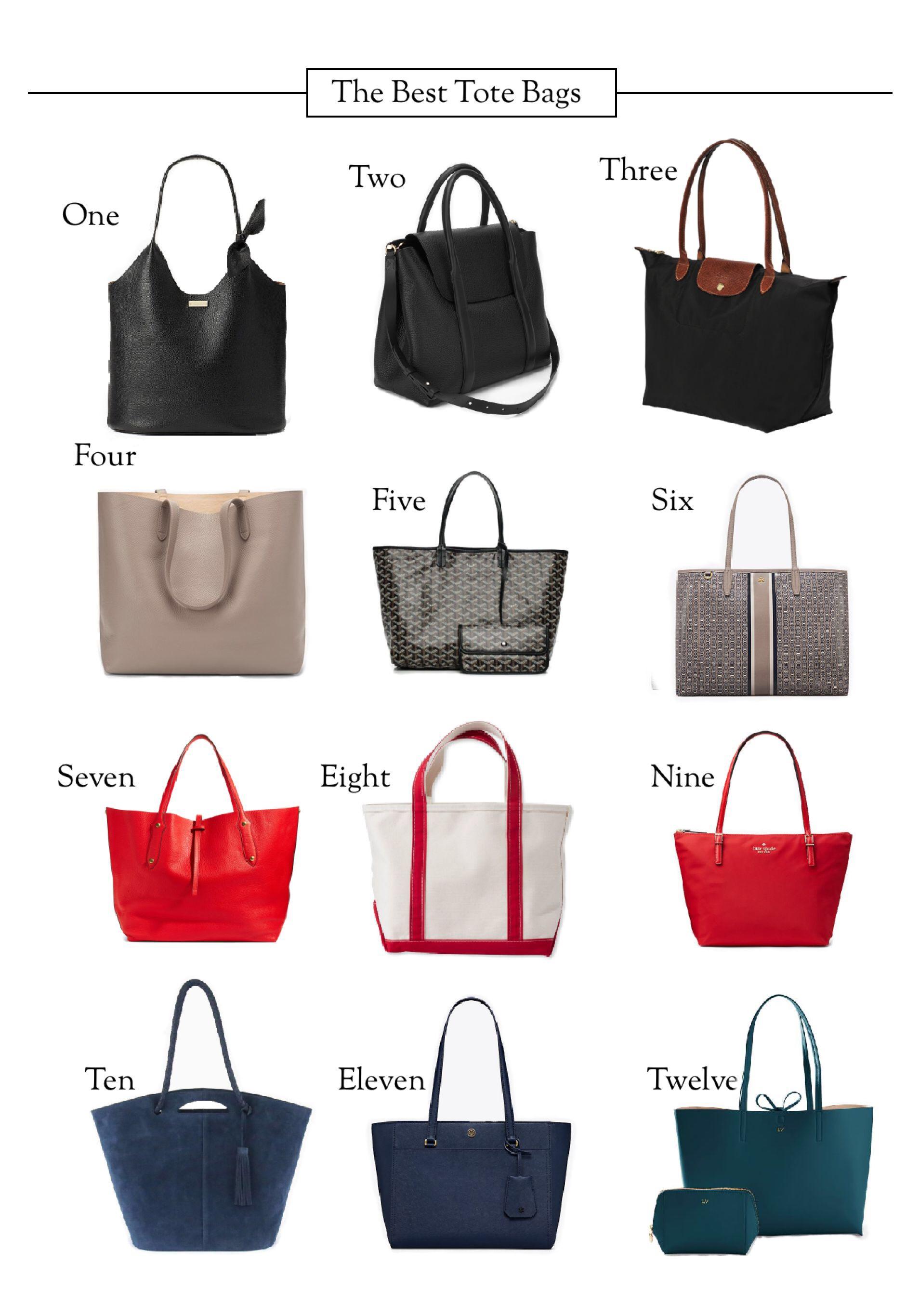 The Twelve Best Tote Bags
