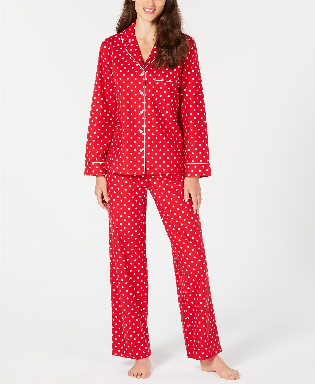 Red polka dot pajamas
