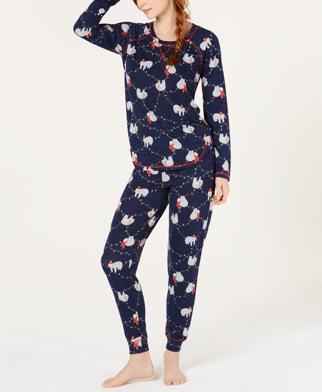 Macy's holiday pajamas