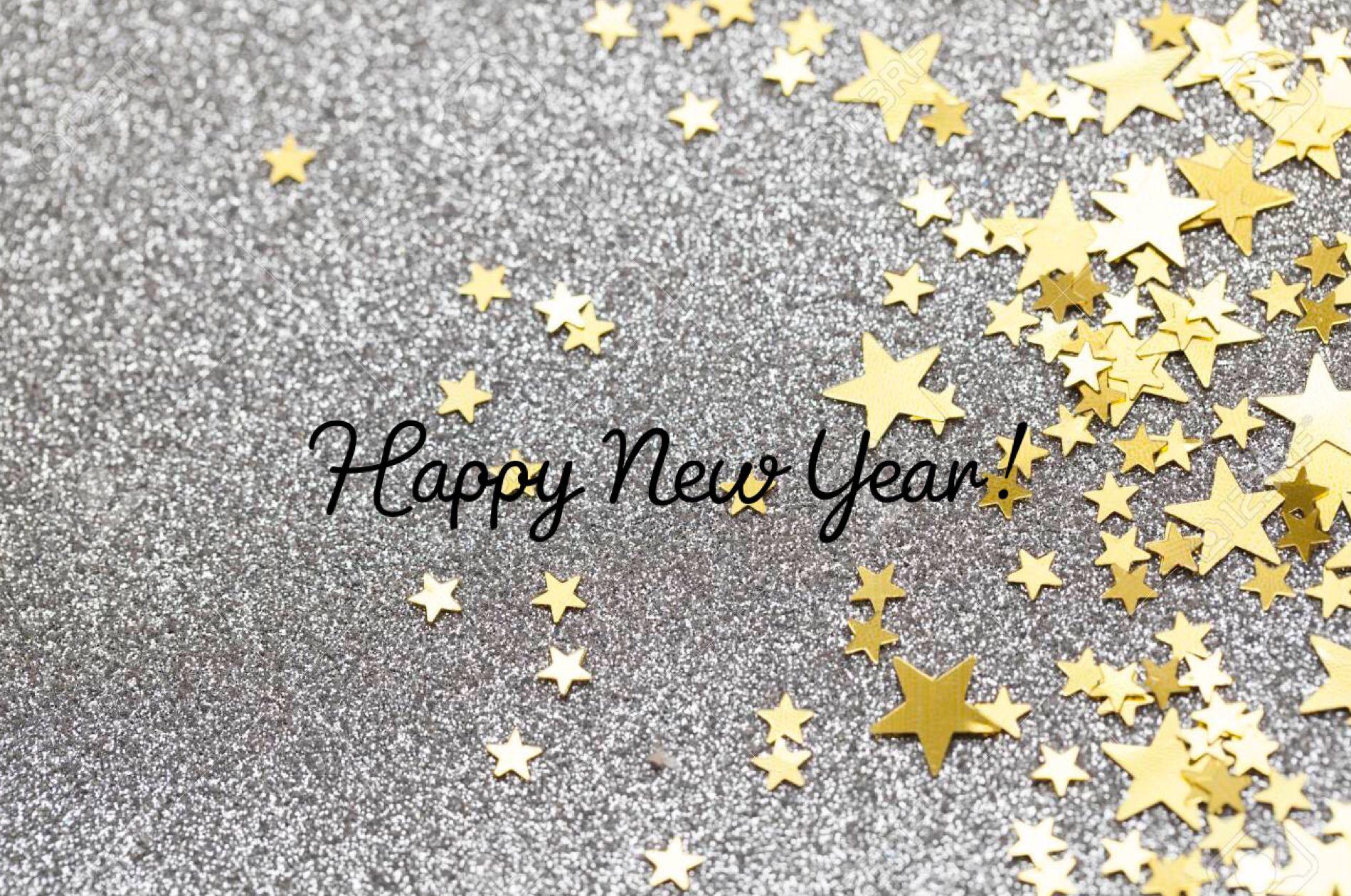 Happy New Year Glitter