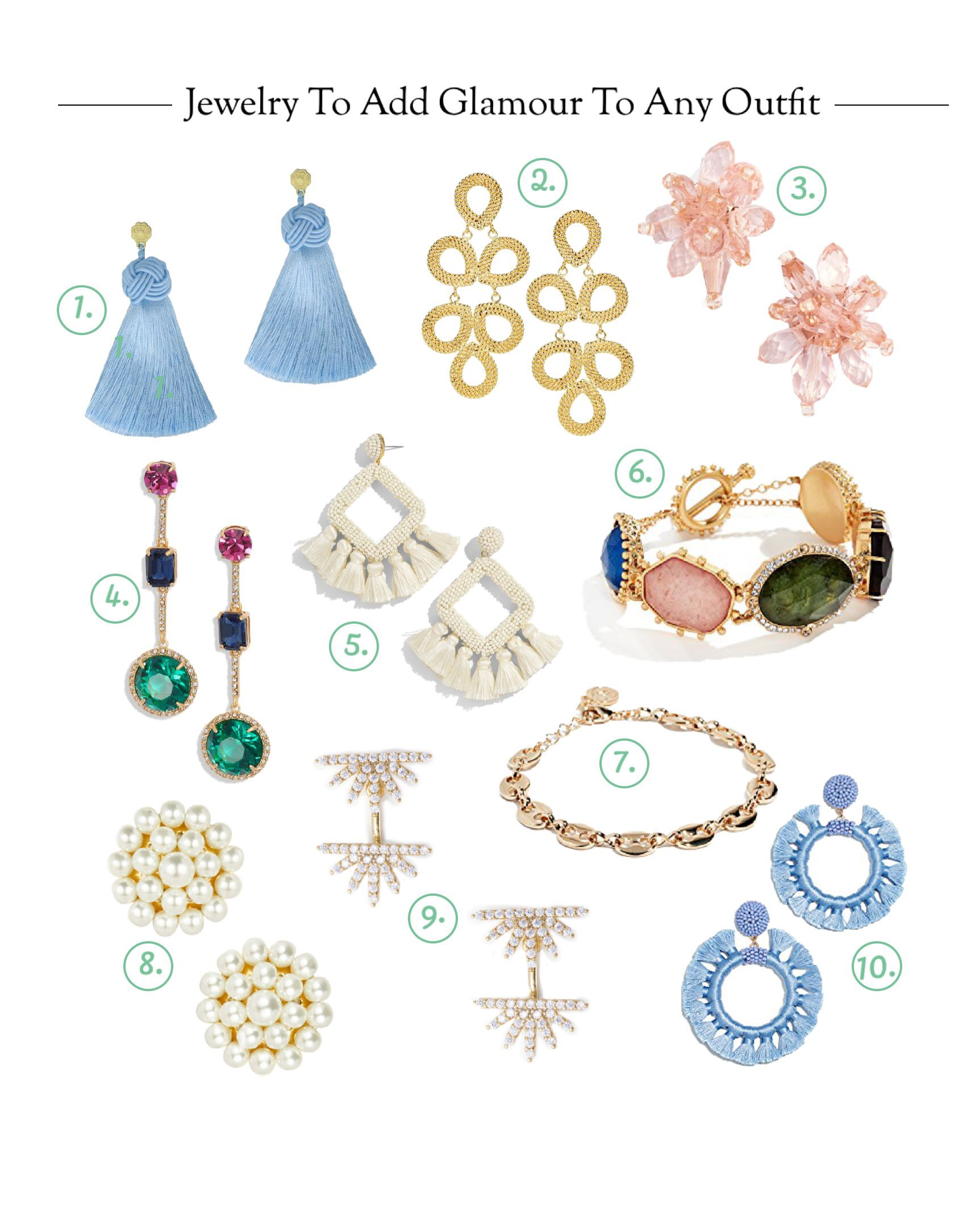 Jewelry To Add Glamour to Any Outfit