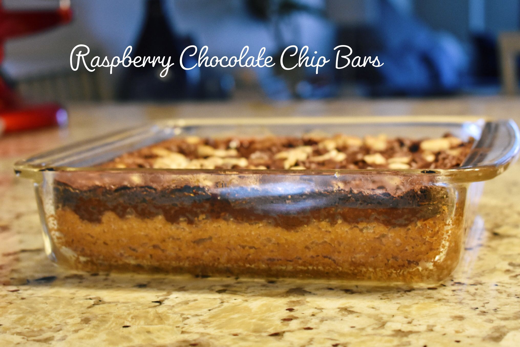 Raspberry Chocolate Chip Bar recipe