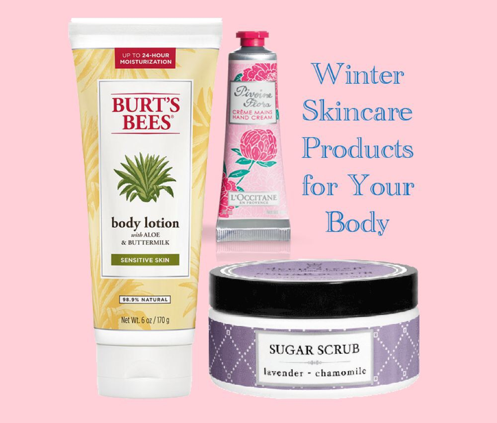 Winter Skincare Products for Your Body