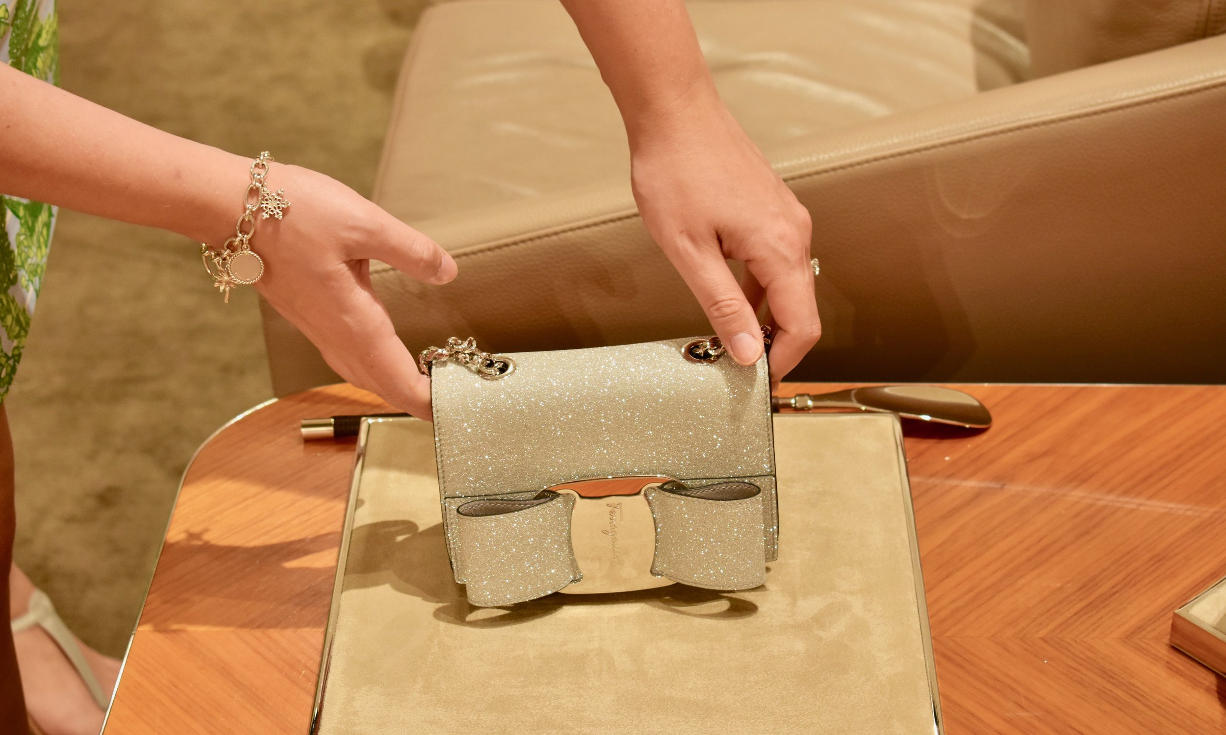Glitter Handbag