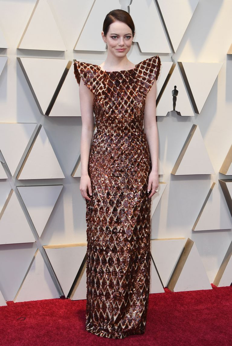 Emma Stone Oscars dress 2019