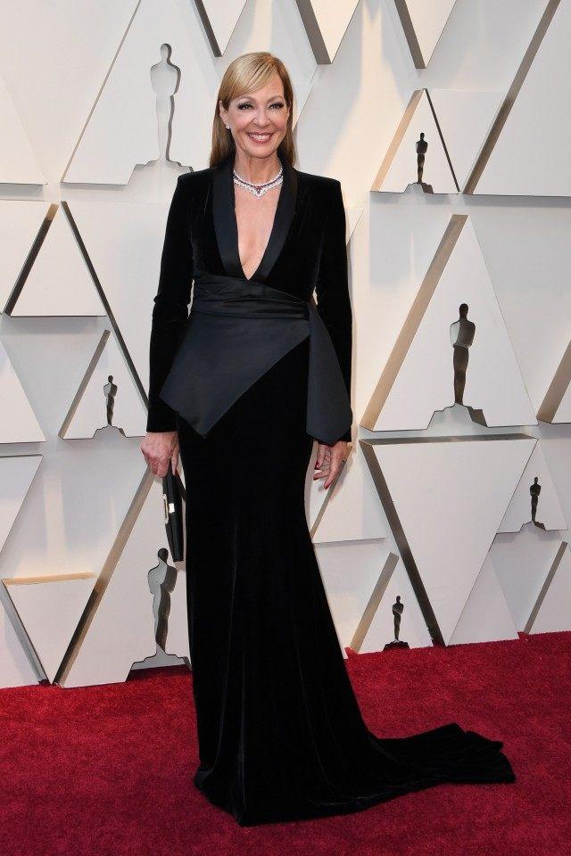 Allison Janney Oscars dress 2019
