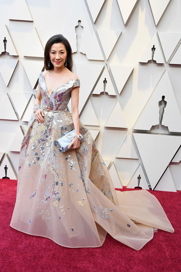Michelle Yeoh Oscars dress 2019