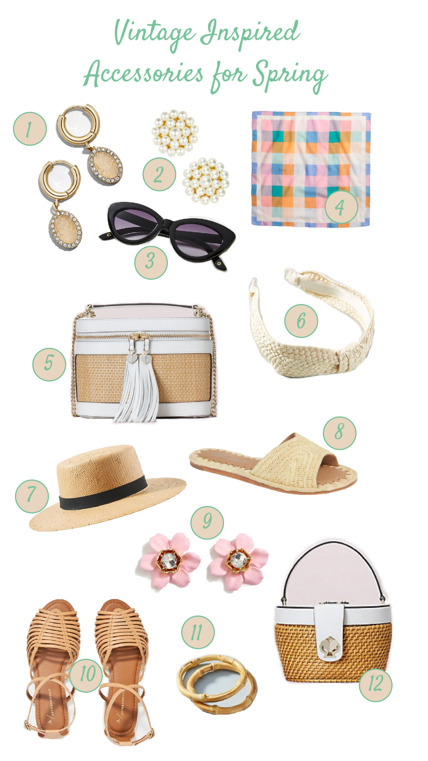 Vintage Inspired Accessories for Spring